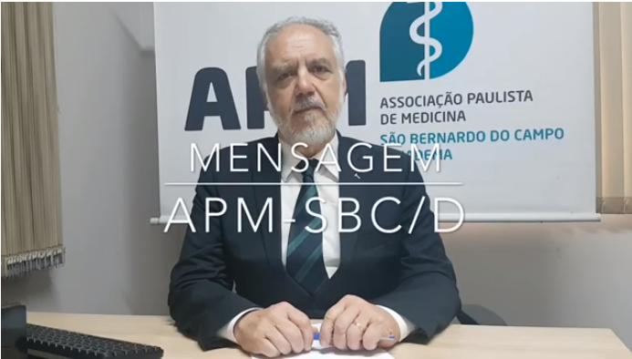 Mensagem do Presidente APM SBC/D